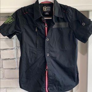 Other - Toddler Boy Short Sleeve Button Down Shirt